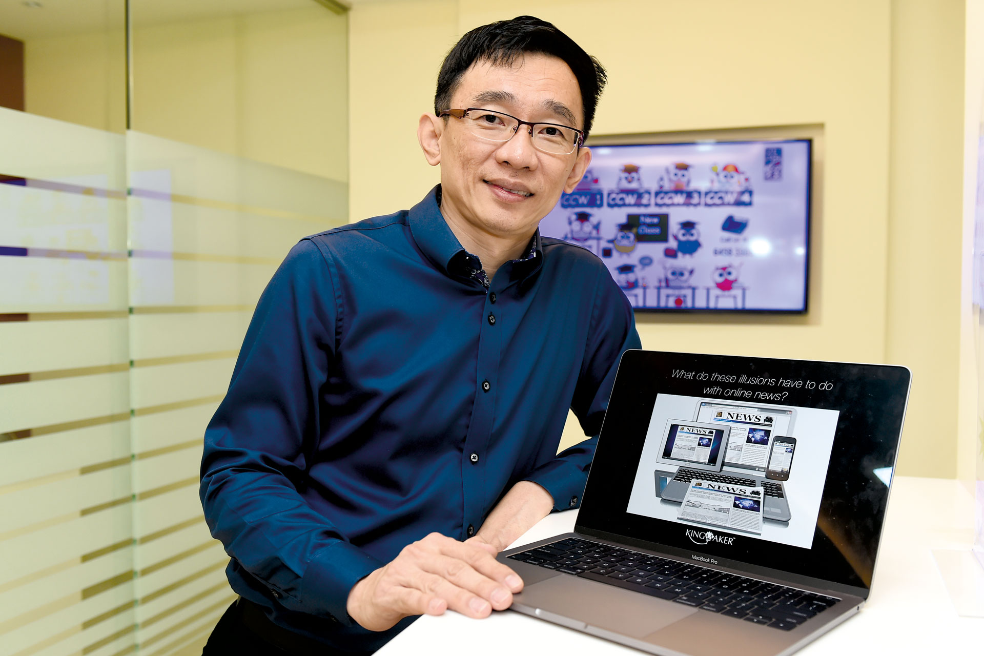 Mr Poh has dedicated his career to empowering children with the tools to navigate the Internet in an informed manner.
