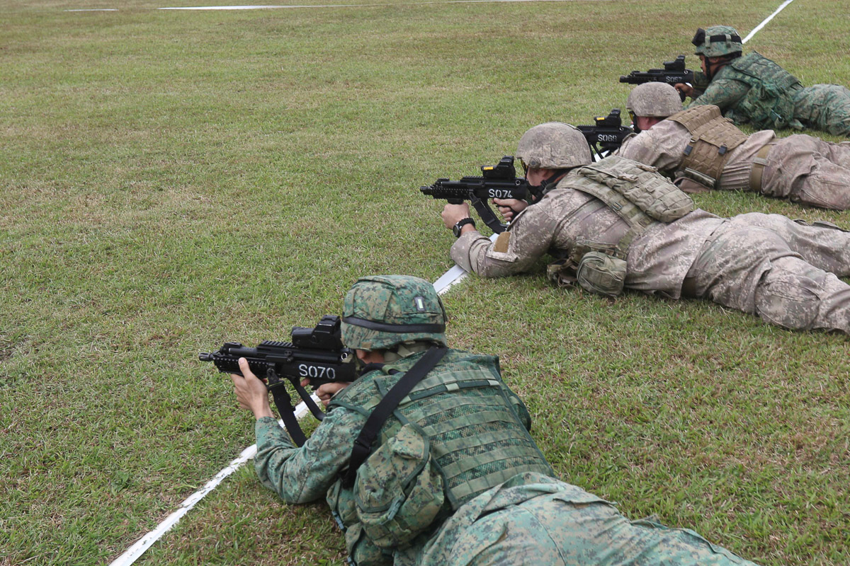 A group of participants working together to reach the best timing with the SAR 21 (MMS).