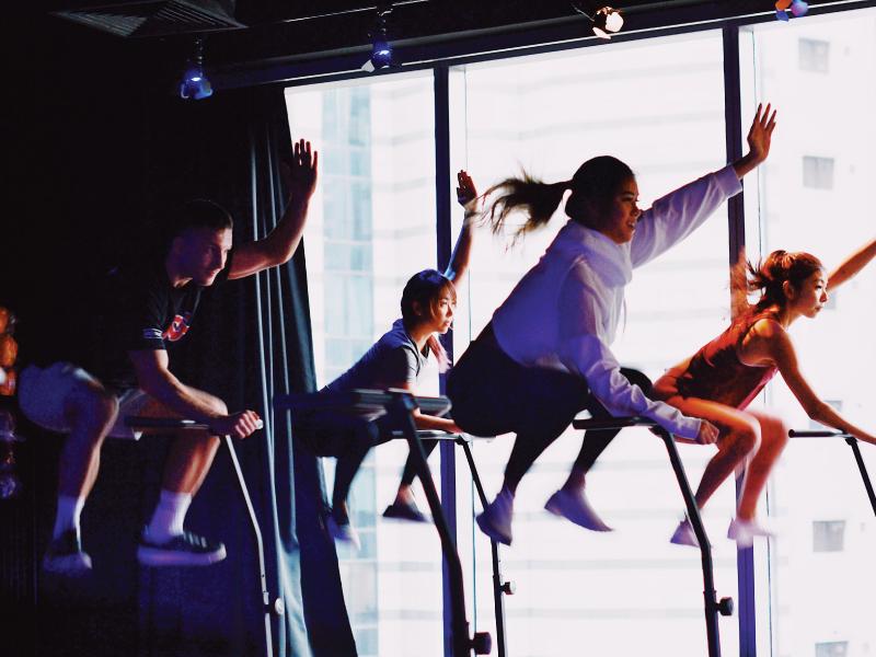 BBOUNCE and THE BATTLEGROUND studio: 2 Fitness Passes at $39 (U.P. $74)