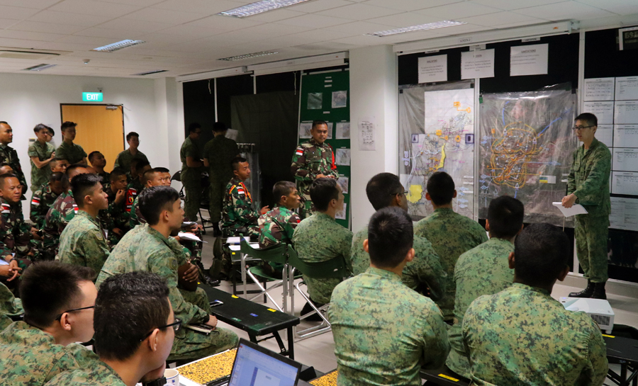 Mission planning conducted by commanders of the SAF, as well as commanders of the TNI-AD.