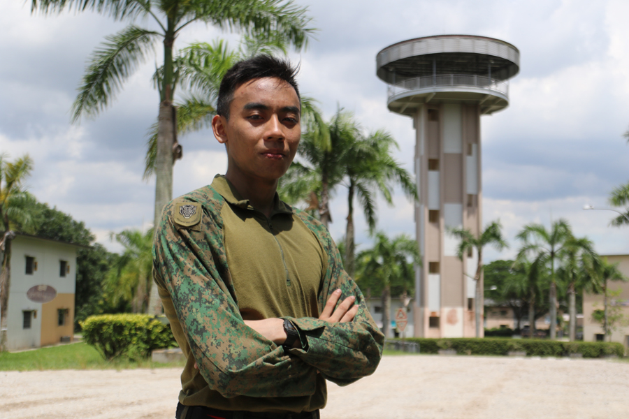 LCP Nevin Wong from 41 SAR