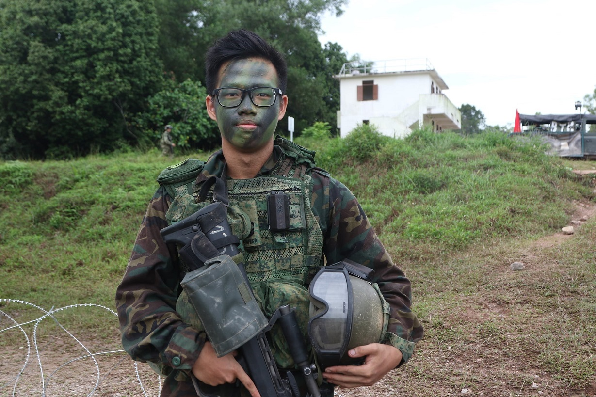 CPL Yong Joon Xiang, Section 2nd-in-charge