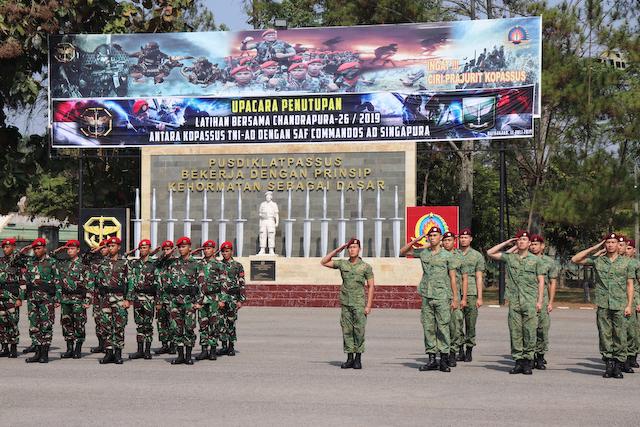 Commandos in Arms – Exercise Chandrapura 2019