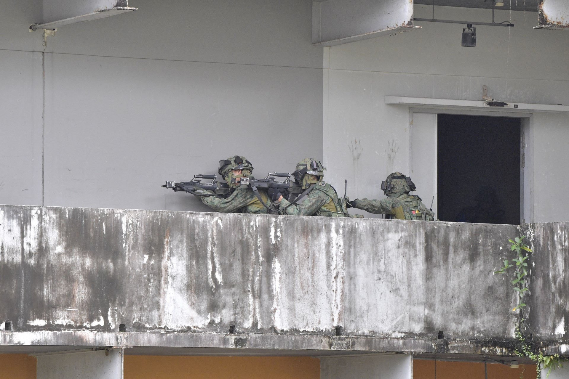Singapore and US Armies Successfully Conduct Exercise Tiger