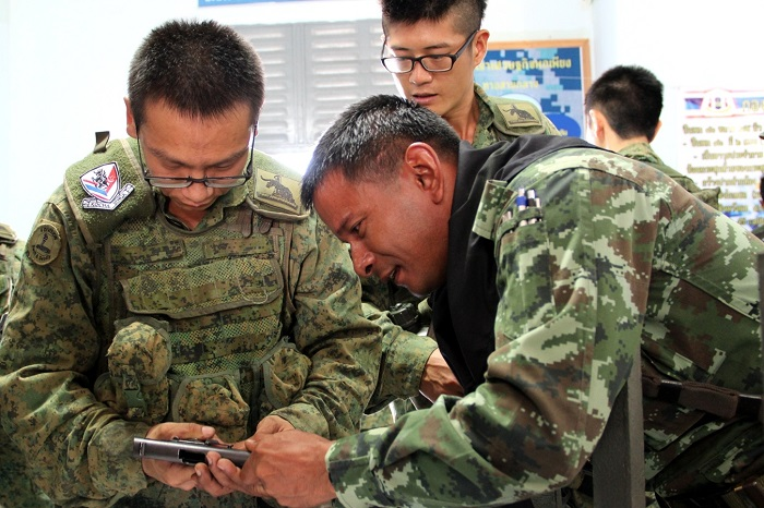 Singapore and Thai Armies Conclude Bilateral Exercise