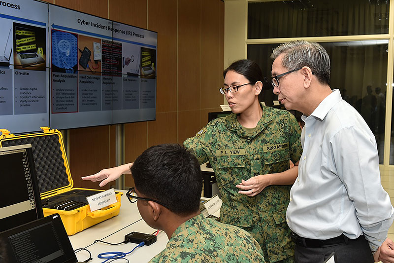 Defence Cyber Chief: Come Hack MINDEF