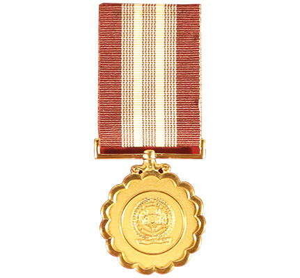 SAF Long Service & Good Conduct (20 Years) Medal