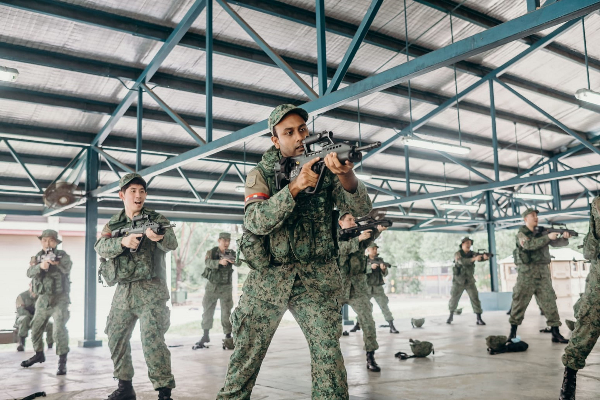 How the men of 735 Gds guarded Jurong Island amid COVID-19