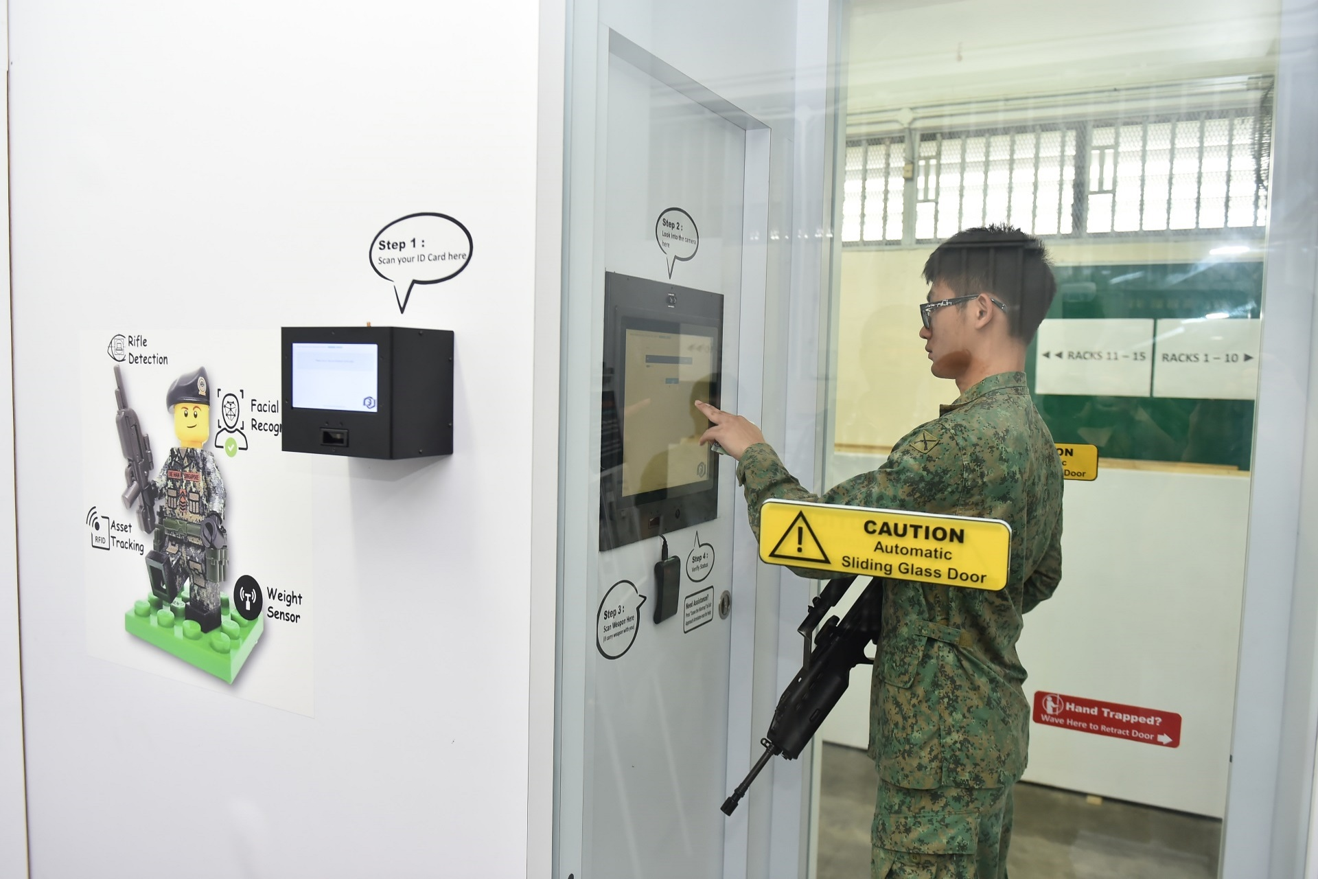 Smart camp, safety app: innovations to improve NS experience