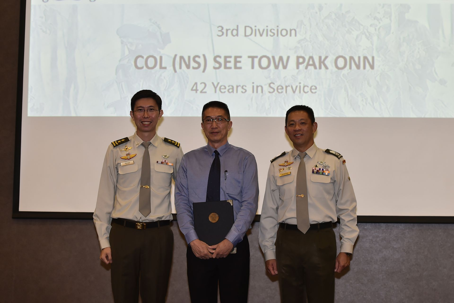 Recognising NSmen for their contributions to defence