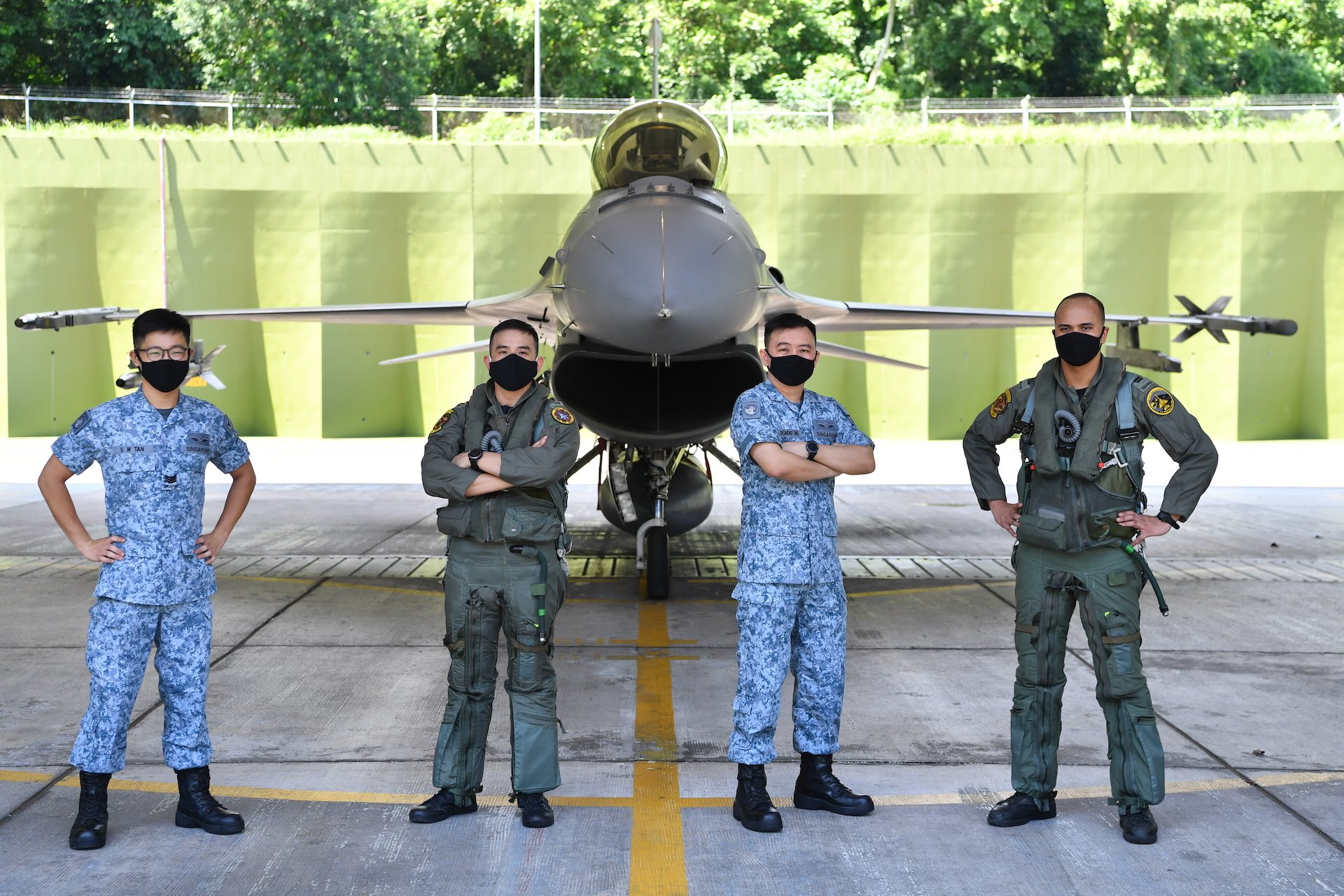143 SQN soars as SAF's Best Fighter Squadron