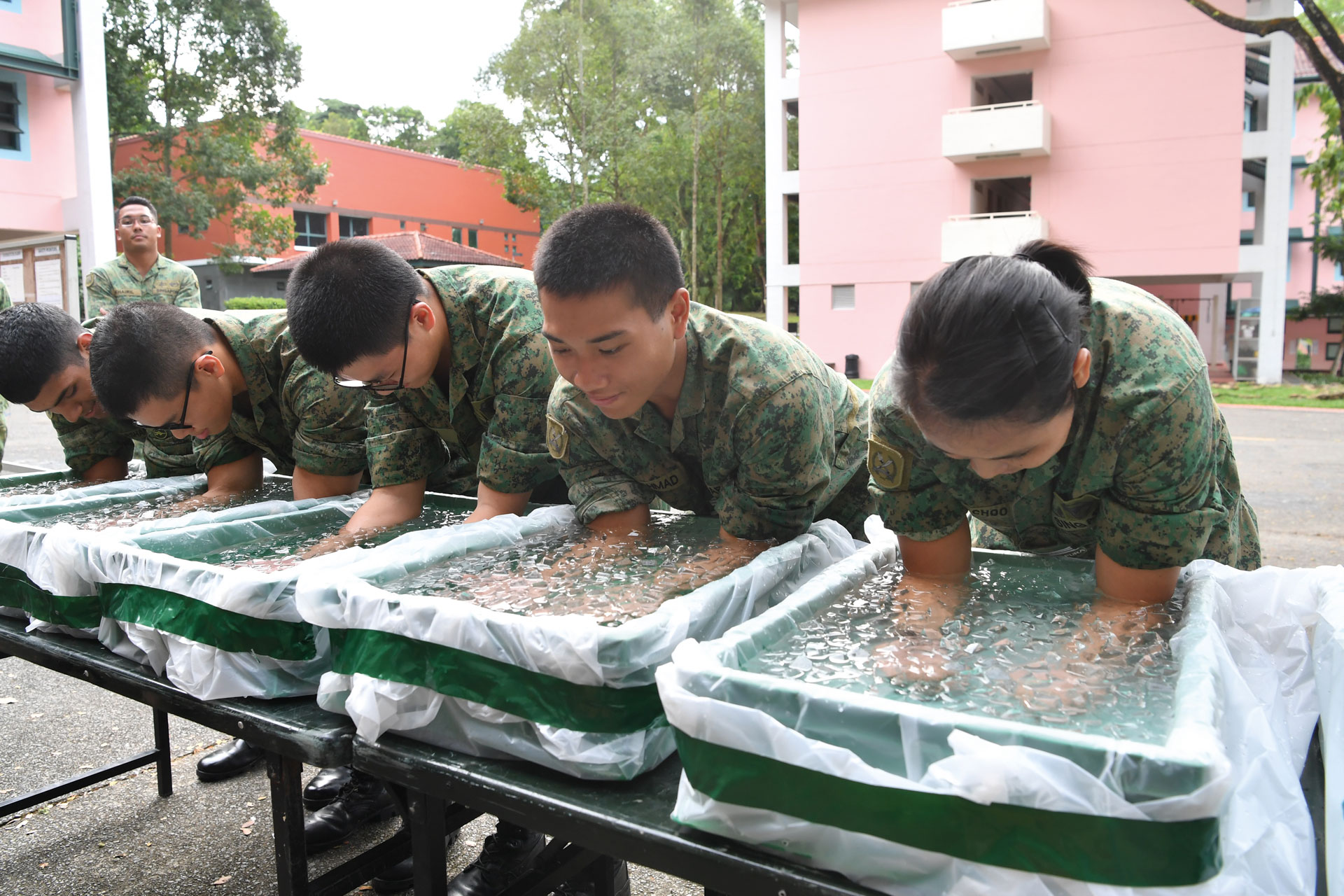SAF implements additional heat injury prevention measures