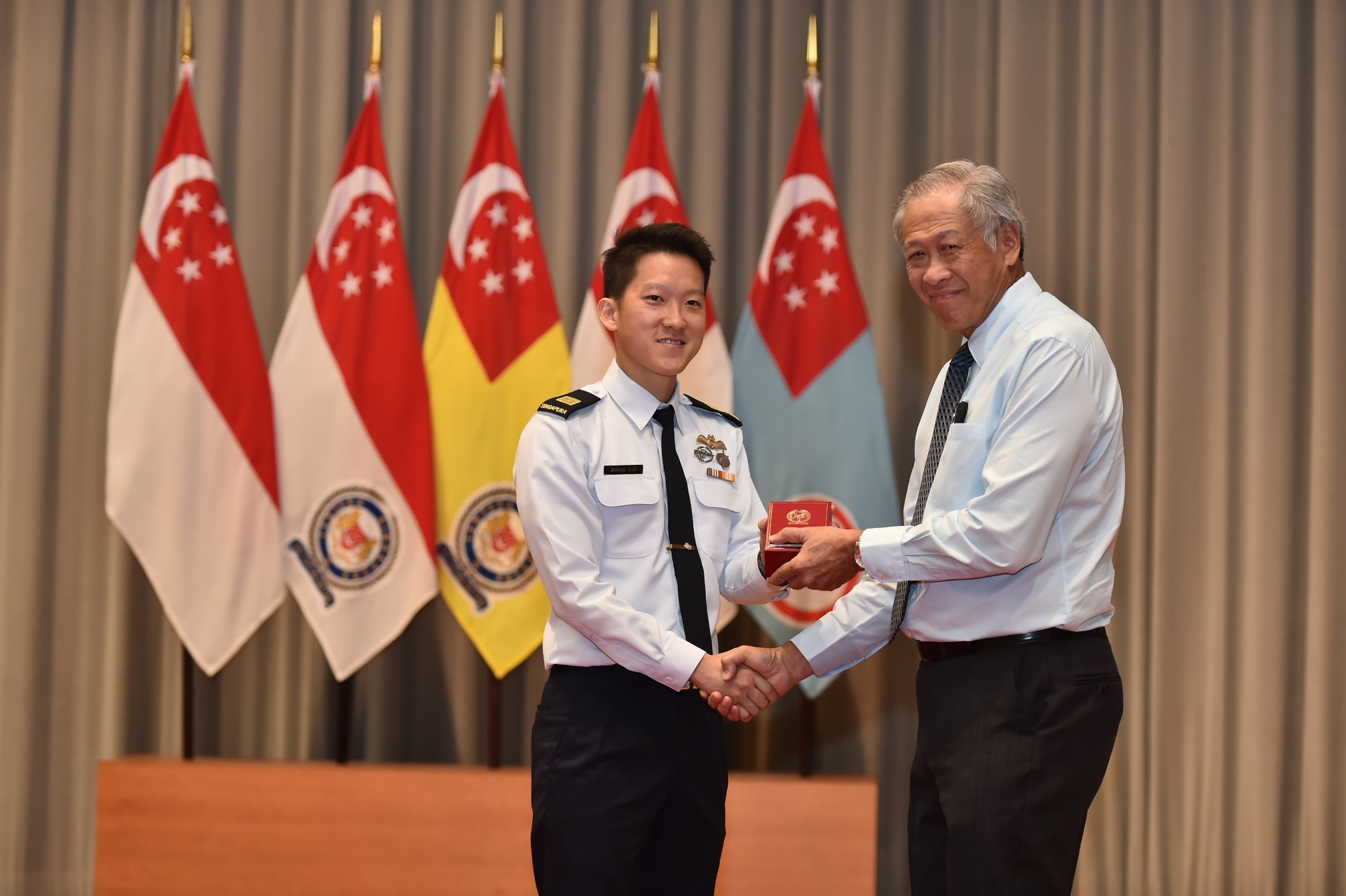 SAF personnel recognised for role in fight against piracy, terrorism