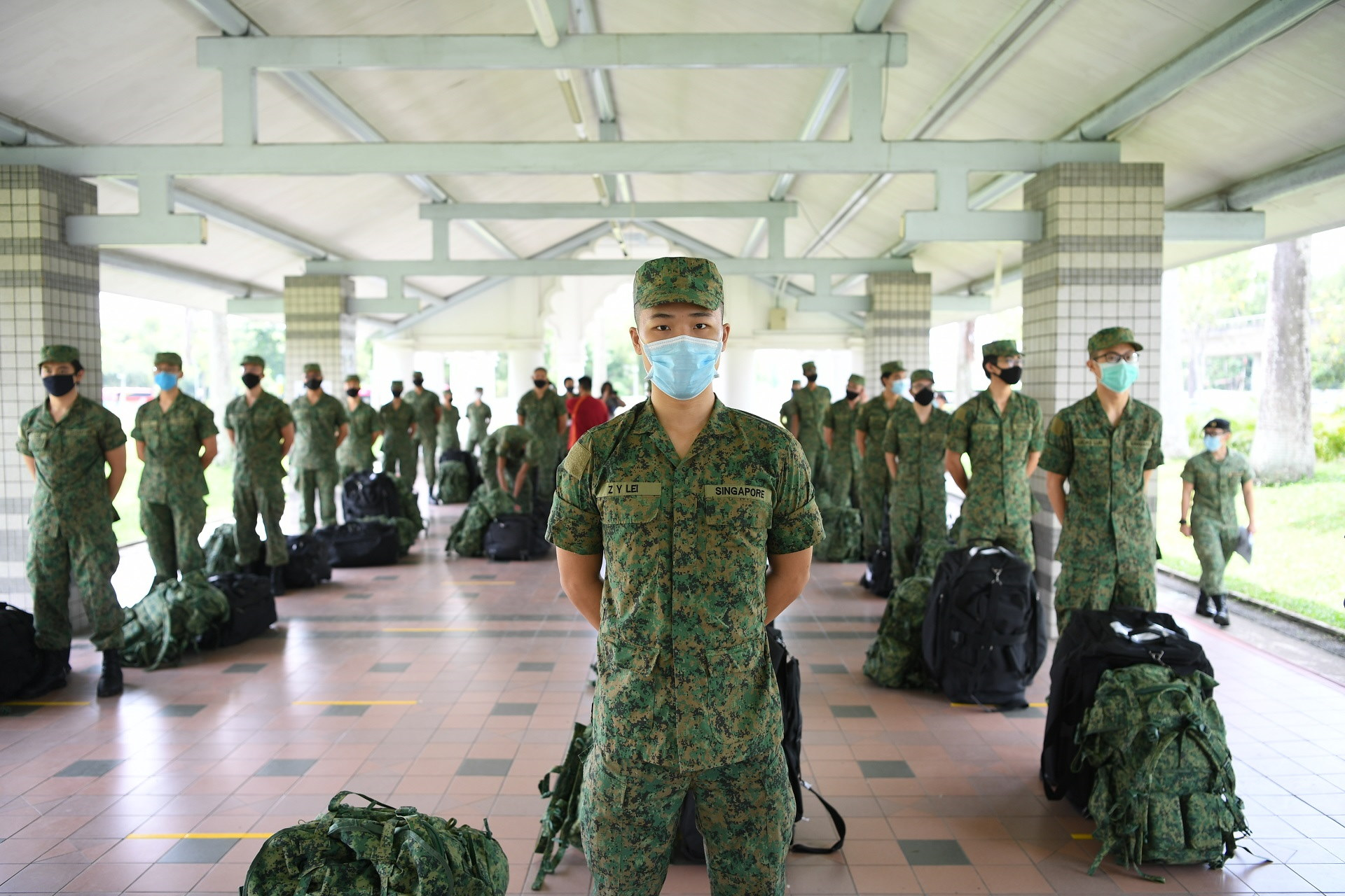 BMT resumes with stricter checks when booking in