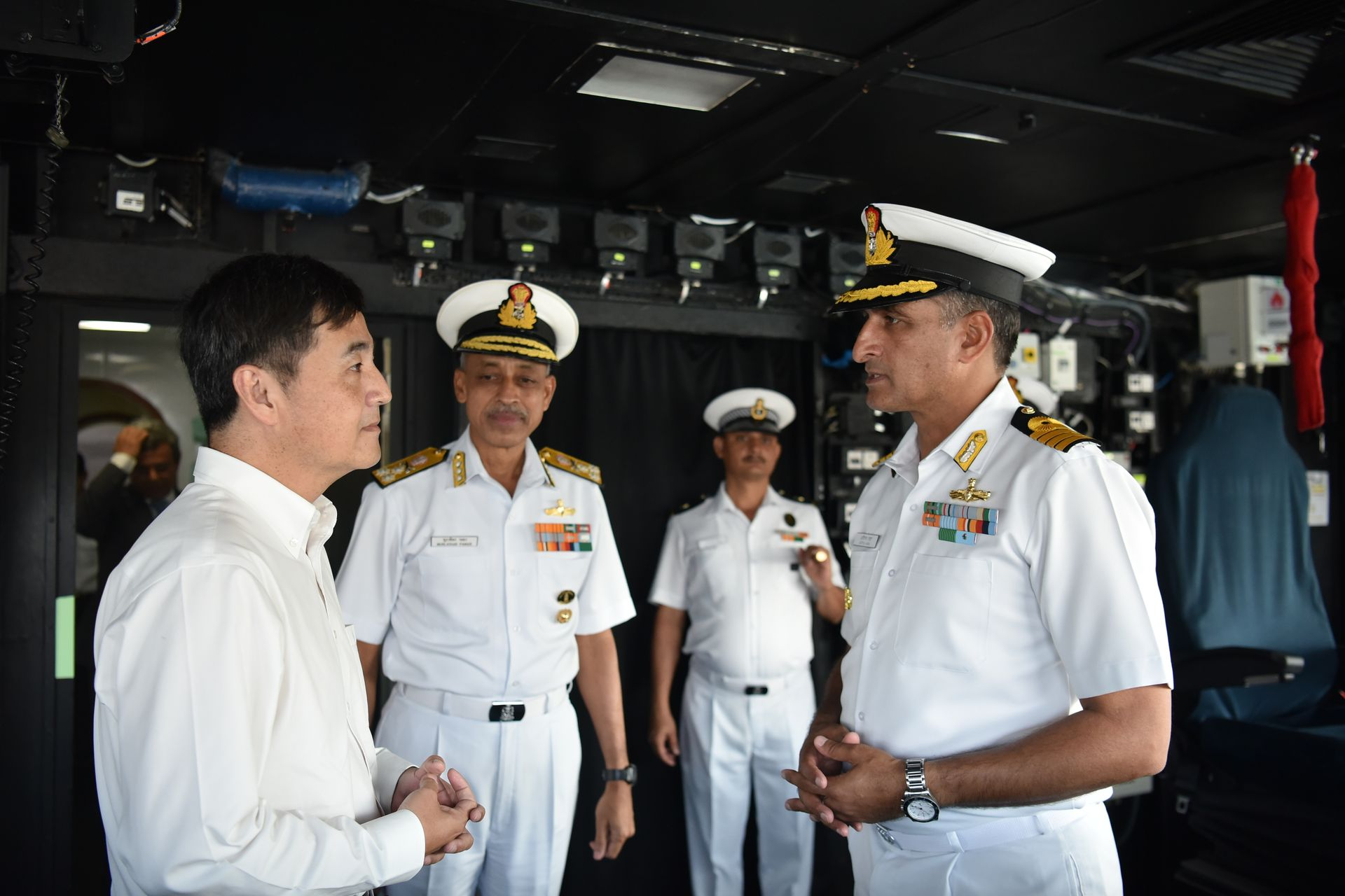 Strengthening naval ties at IMDEX Asia