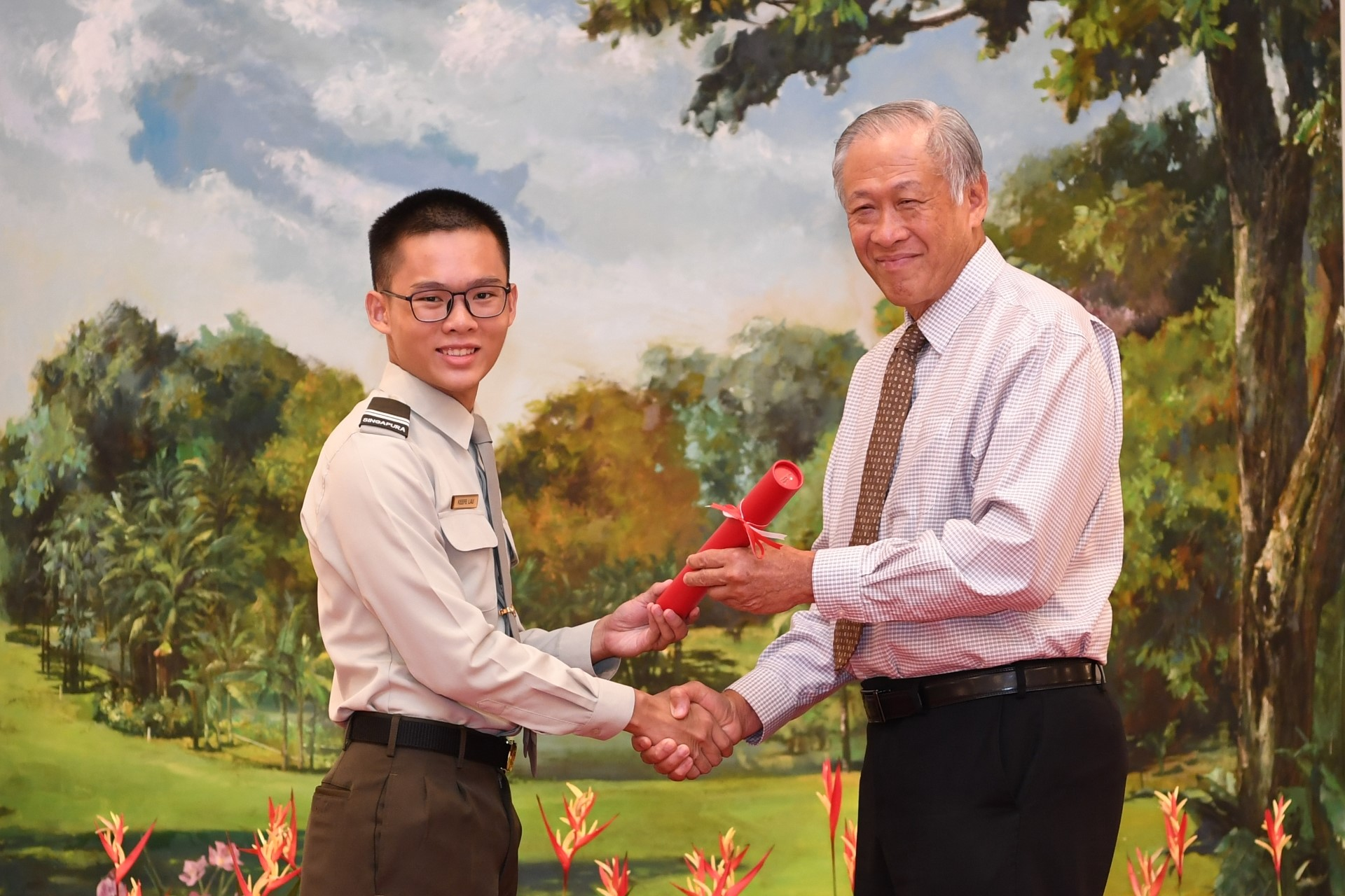 SAF Scholarship awarded to poly, SOTA students for the first time
