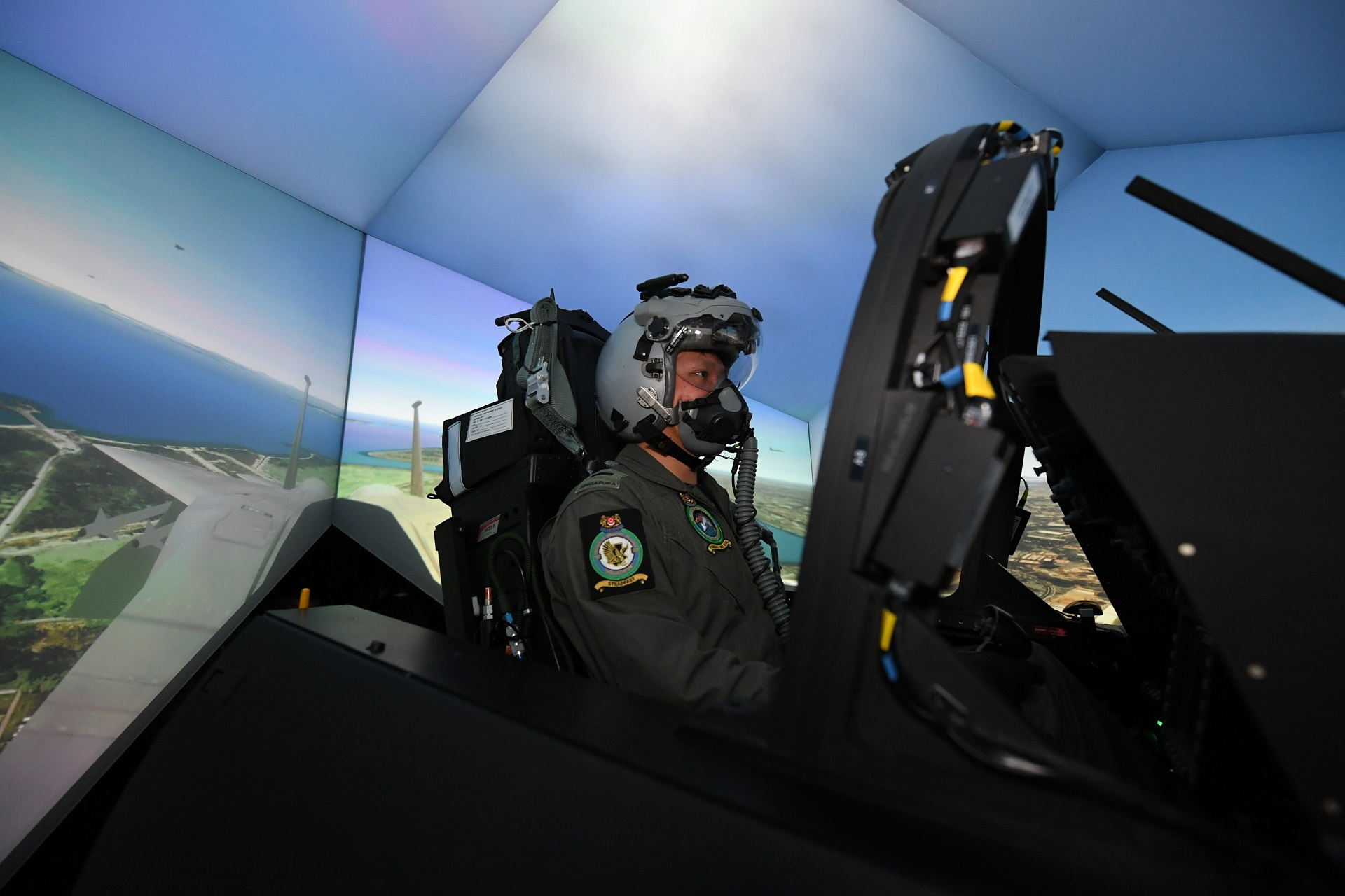 F-15SG training simulator to sharpen aircrew's combat skills