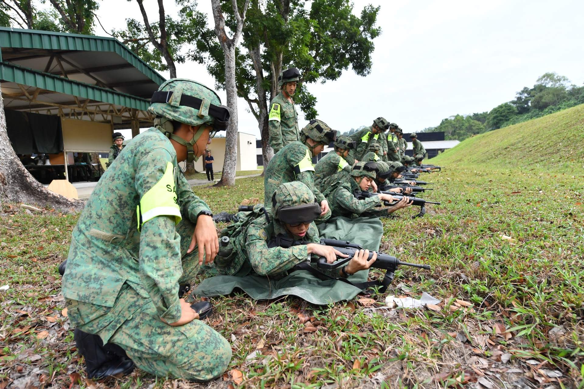 Safety inspections for all field training; enhanced NS experience: Mr Heng