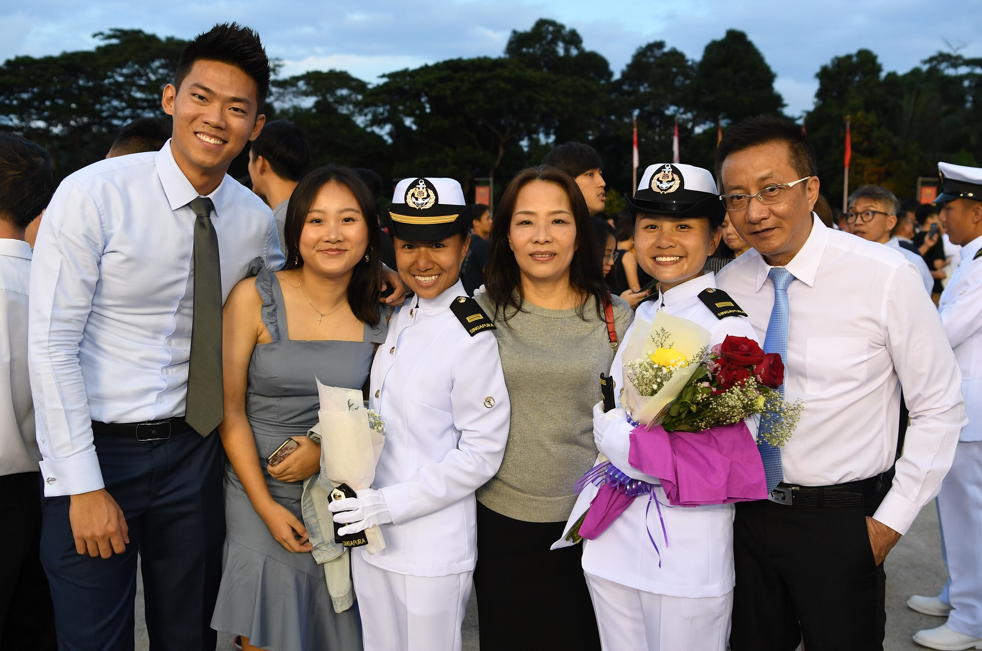 All in the family for new SAF officers