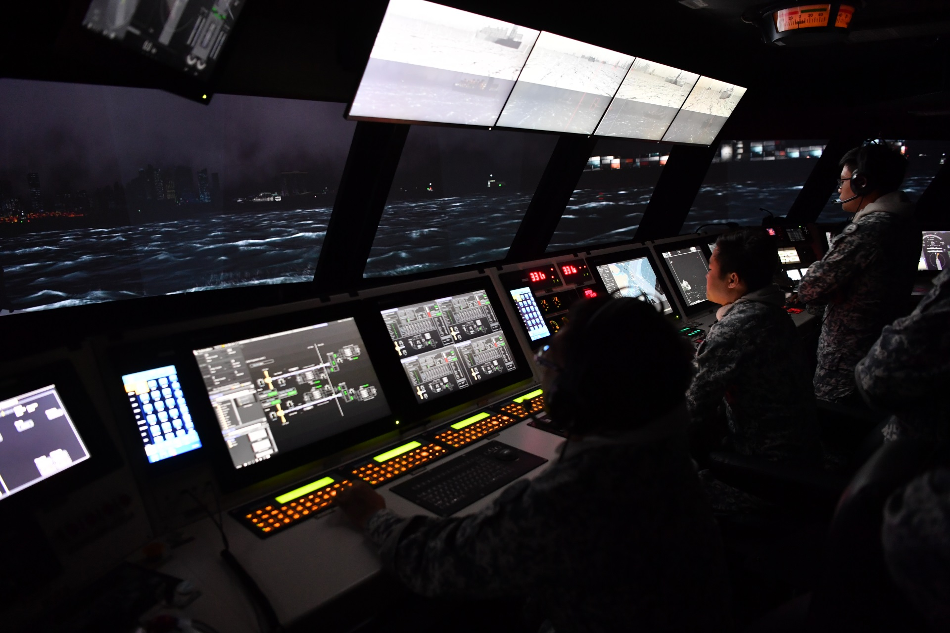 S'pore Navy opens its first integrated simulation centre, commissions new Littoral Mission Vessels