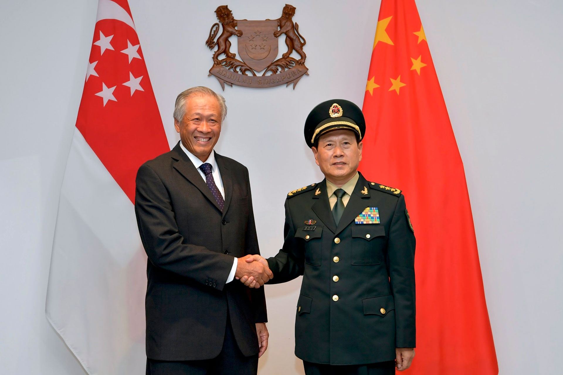 S'pore, China to step up defence ties