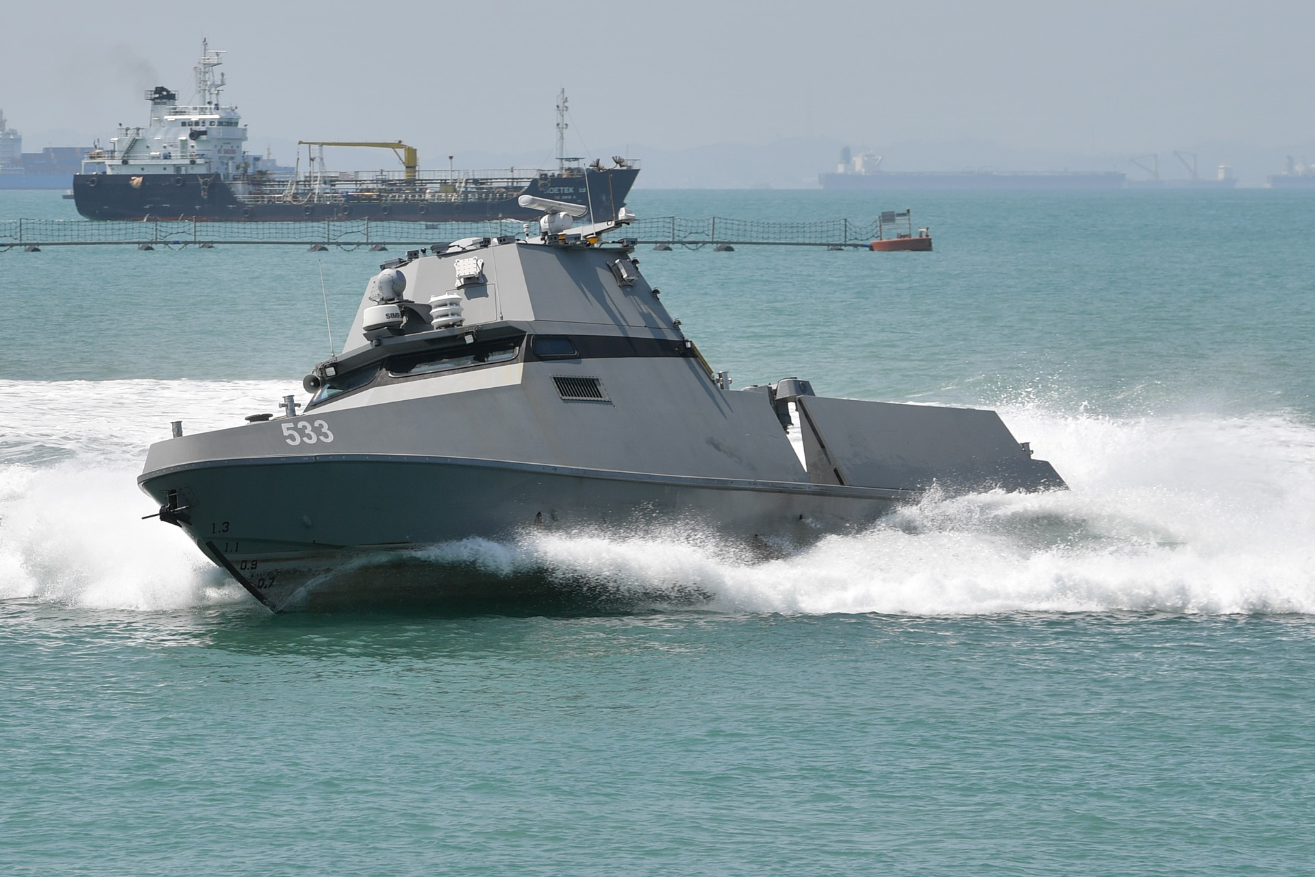 Self-driving unmanned vessels to patrol S'pore waters