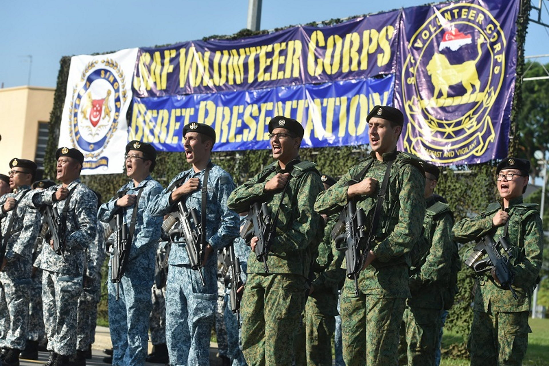SAFVC turns 5, volunteer force 900-strong