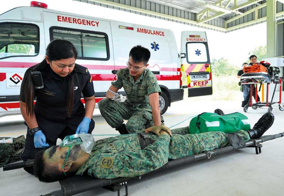 Training boost for paramedics