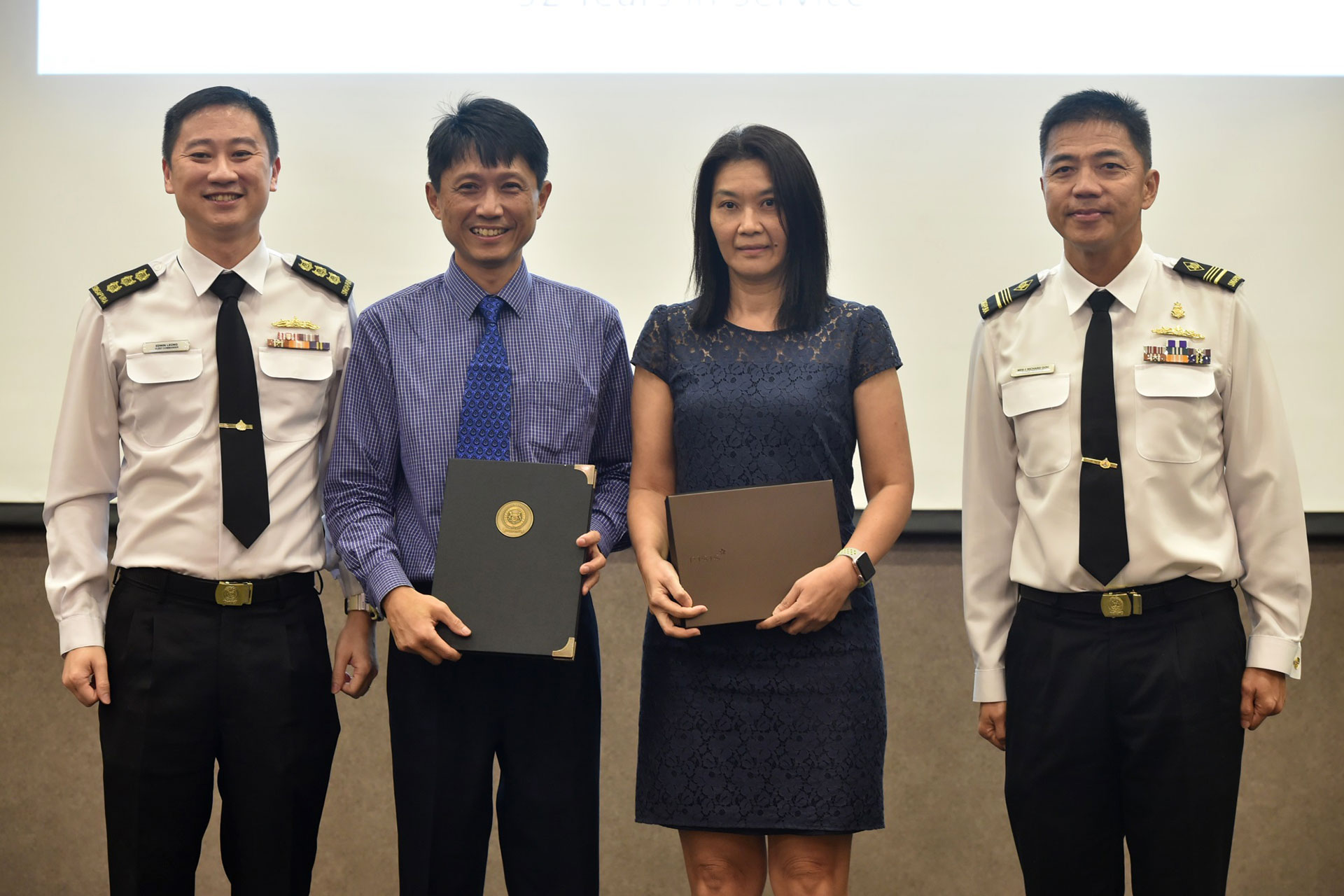 Recognising NSmen for their commitment to defence