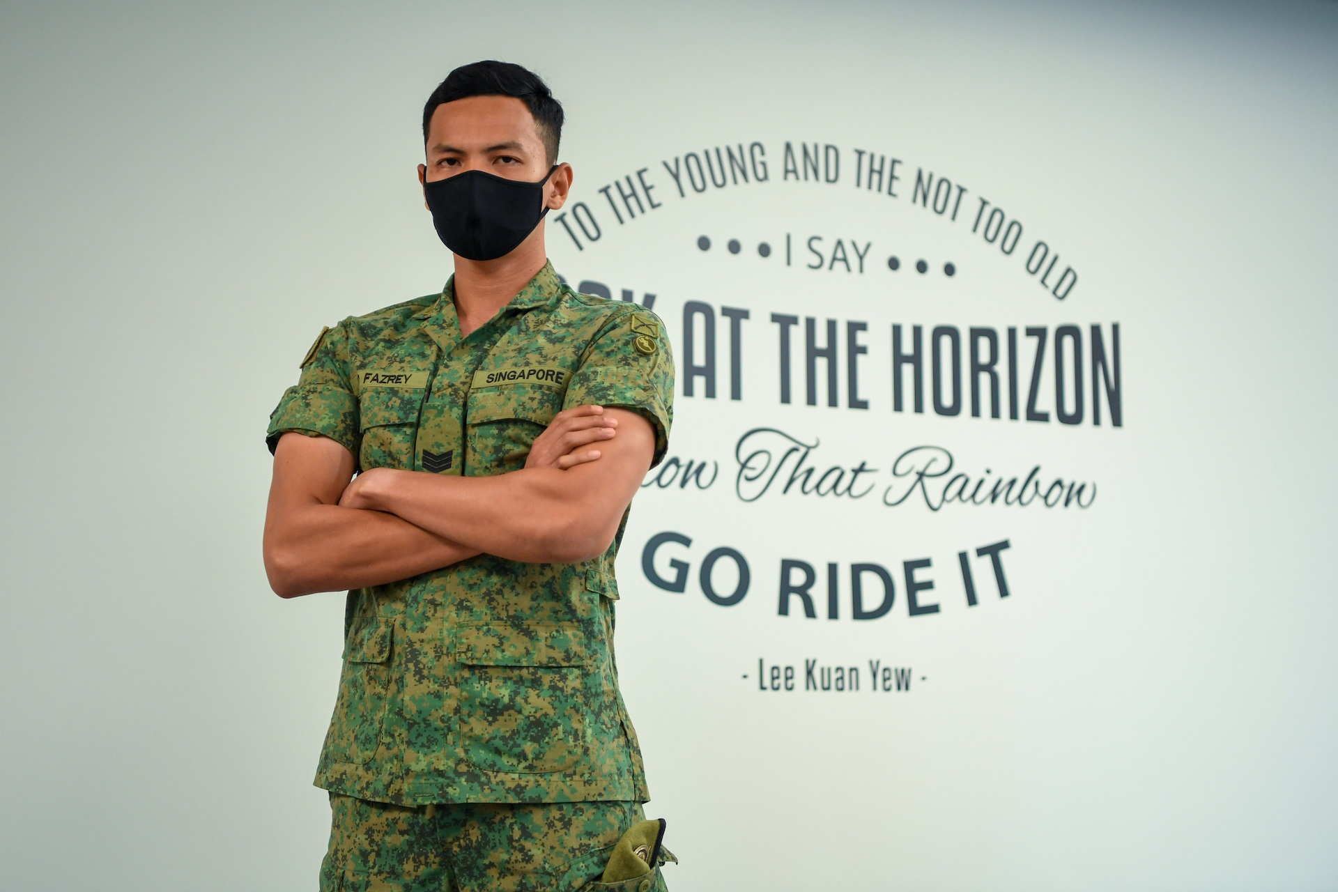 The unlikely soldier who became top NSF