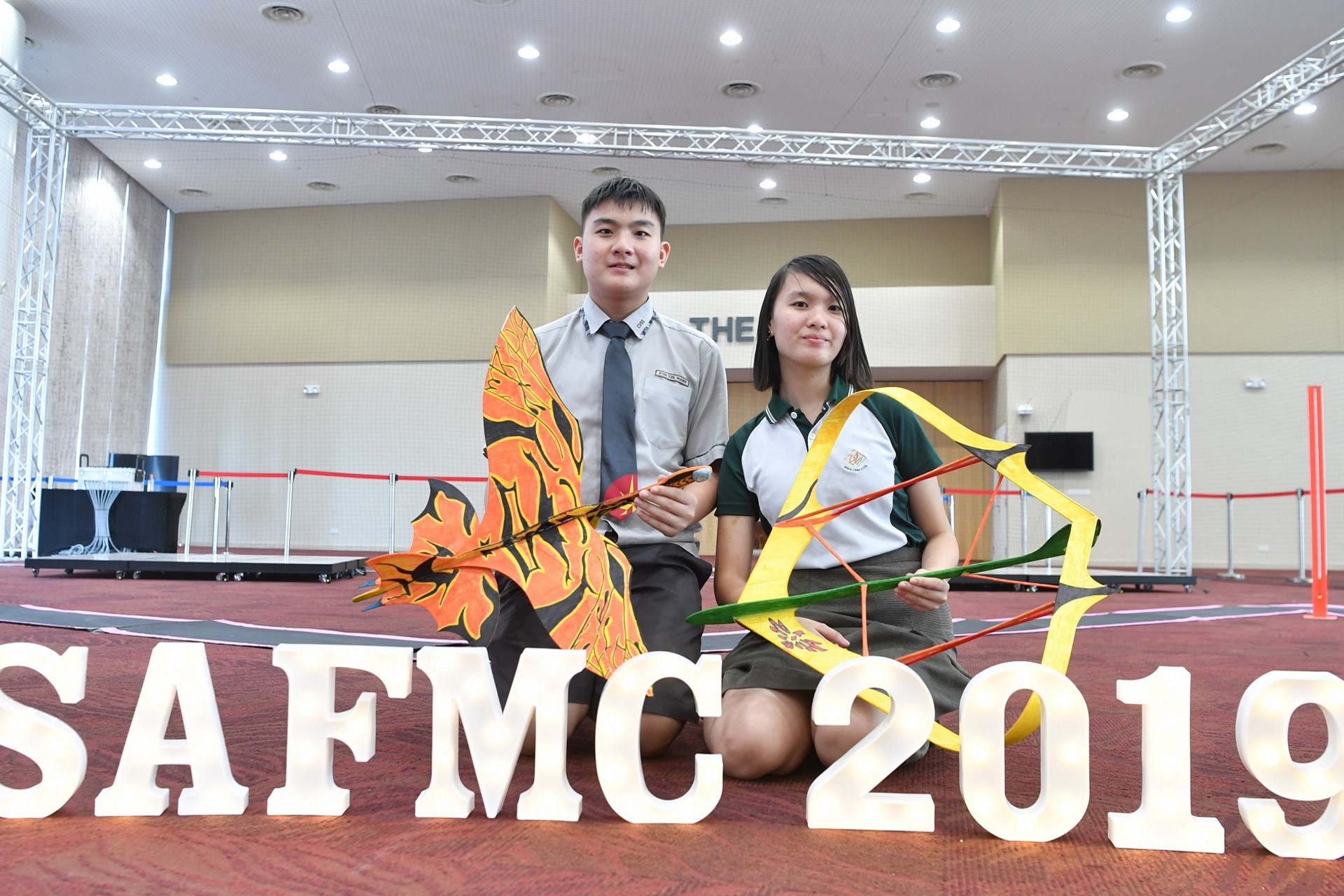 Two to fly: siblings win Amazing Flying Machine prizes