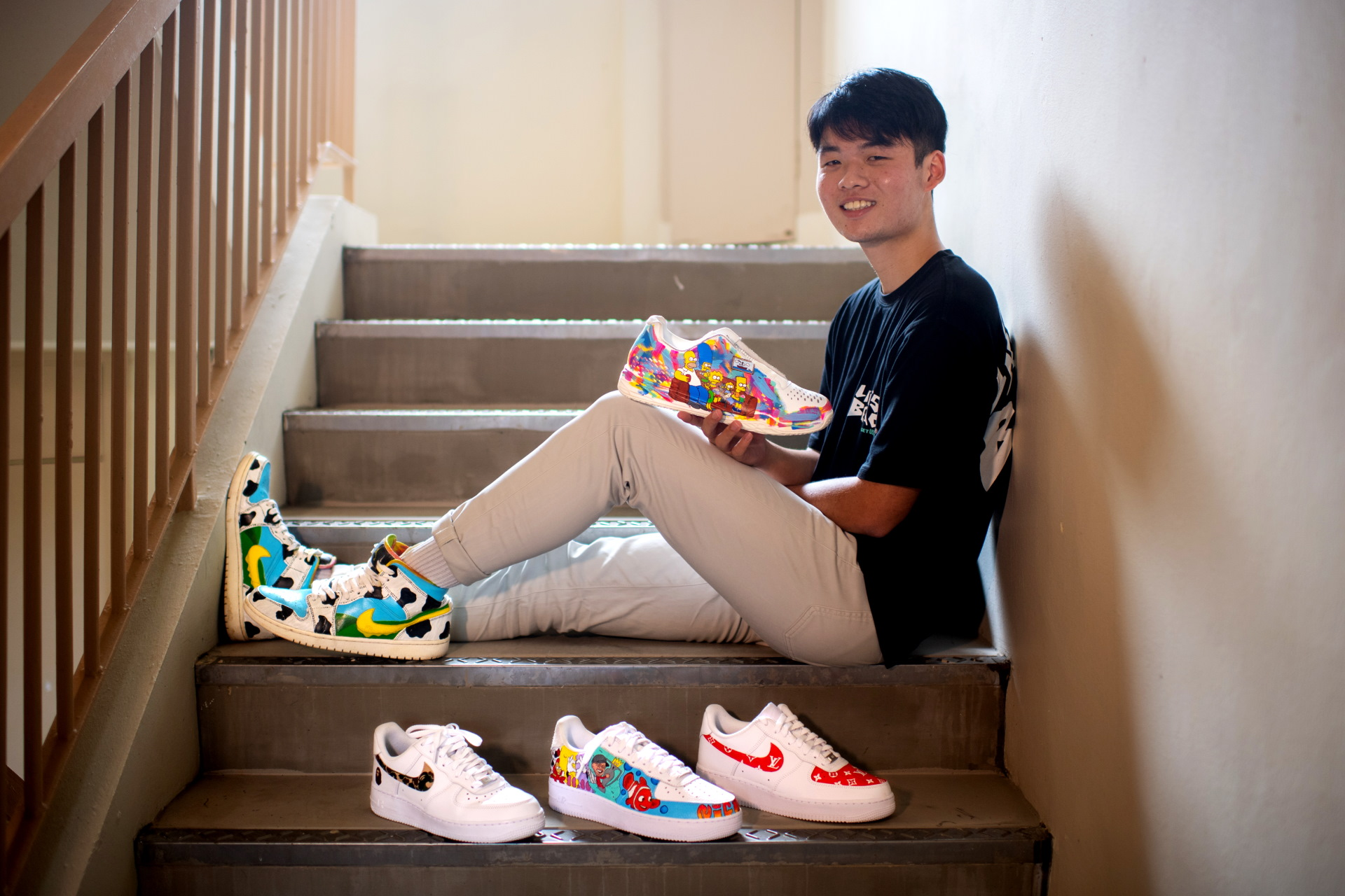 Self-Taught Sneaker Artist Turns Hobby Into Successful Home Business