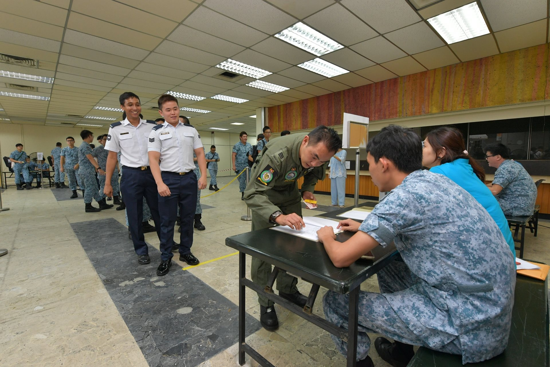 RSAF demonstrates readiness through mobilisation exercise