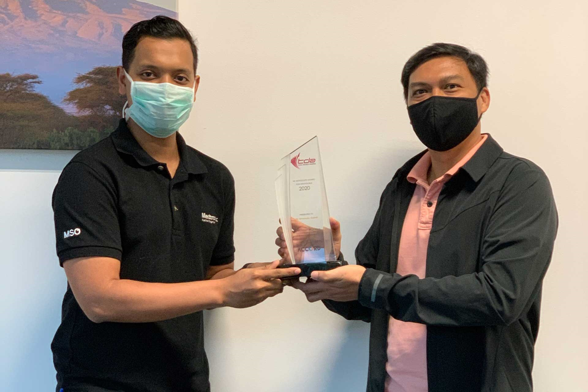 Recognition for manager who supports NS