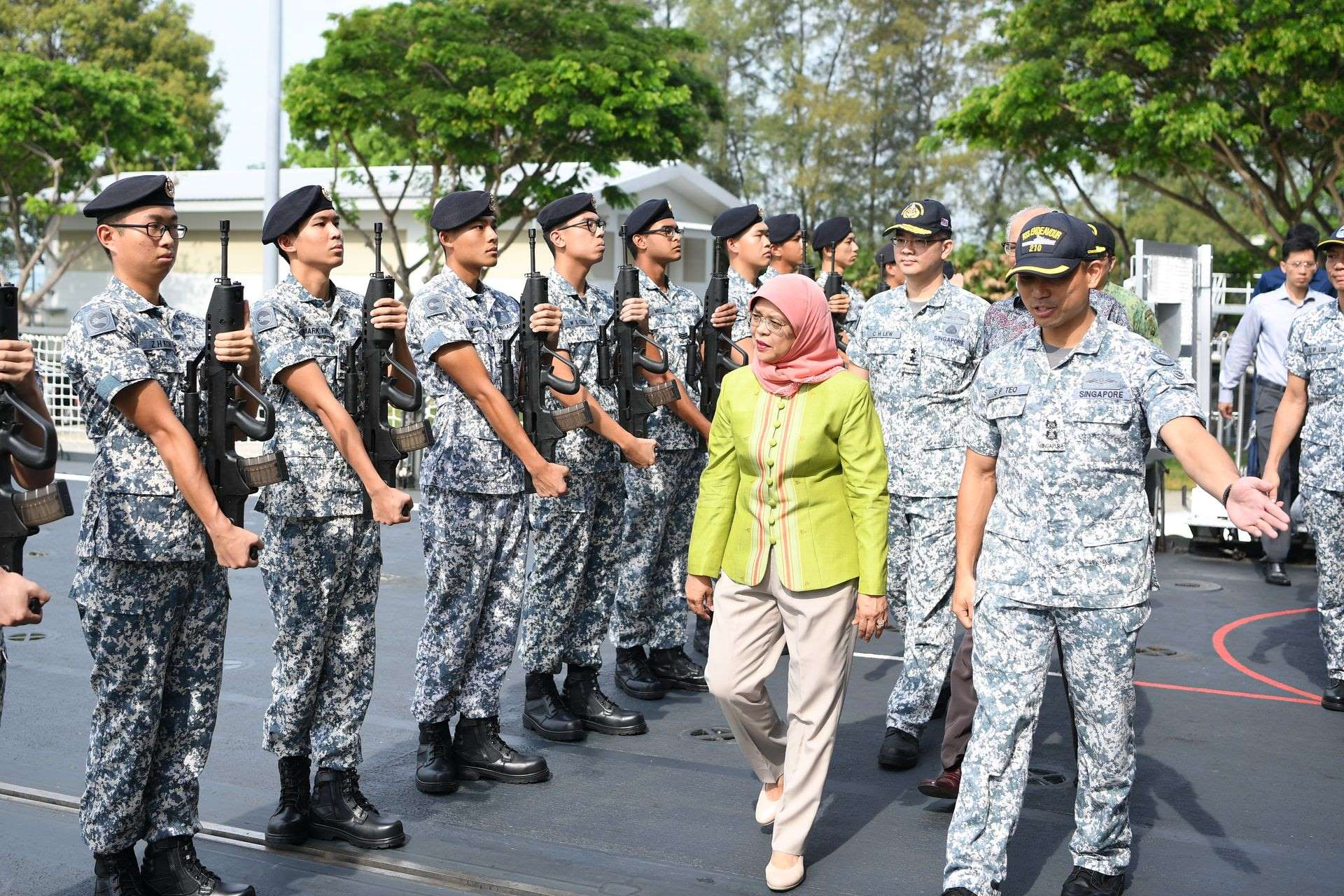Strong, capable Navy vital to continued peace and prosperity: President Halimah