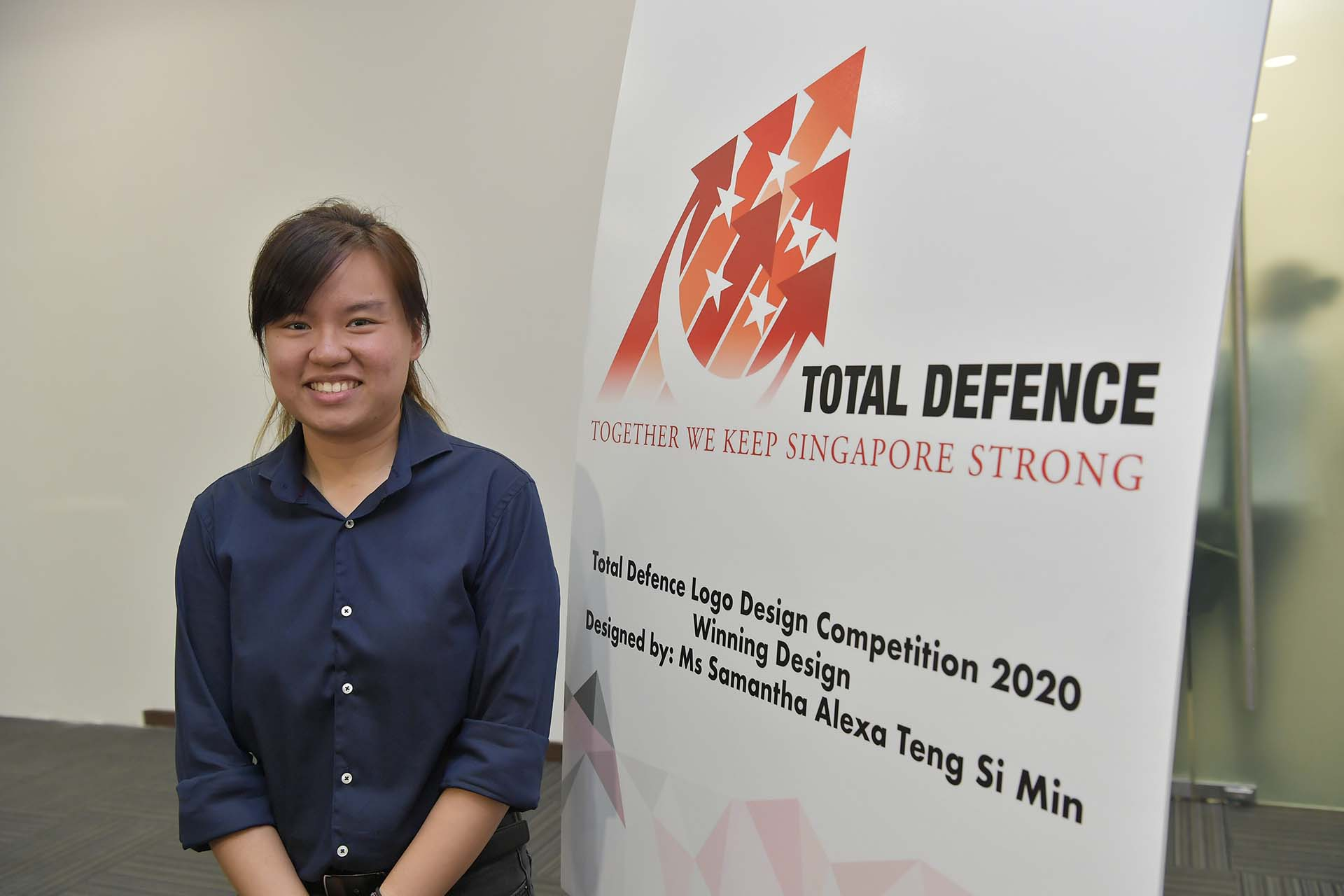S'pore unveils new Total Defence logo