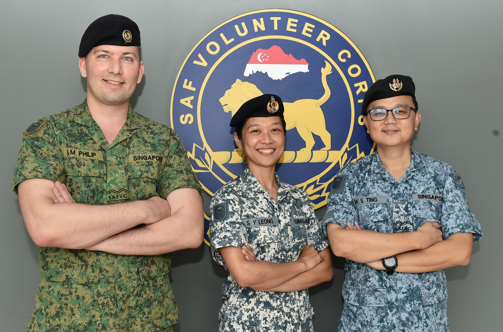 SAFVC holds first tri-Service promotion, launches 15 new roles