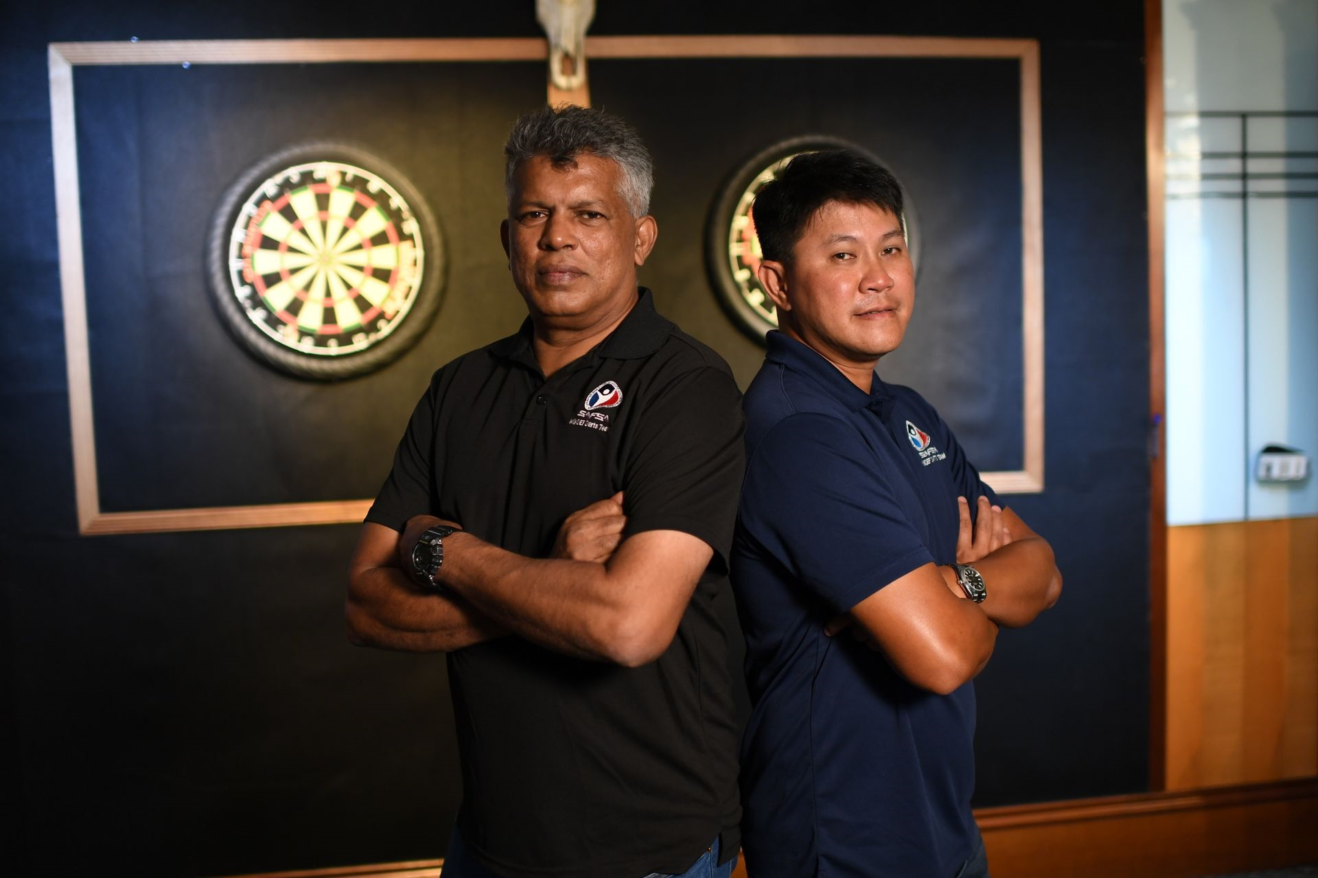 Aim for perfection with SAFSA darts players